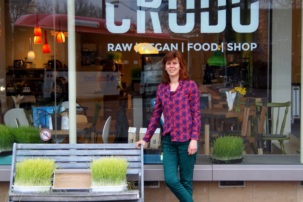 Levende voeding bij Crudo