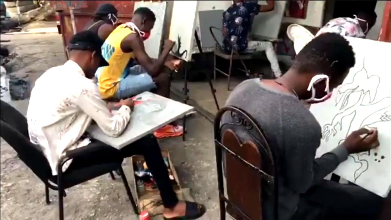 New vision art school Port-au-Prince